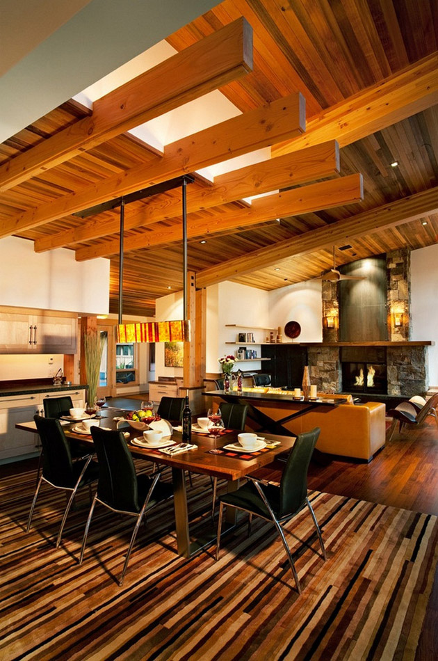 modern rustic wooden house with elegant interior design in usa (6)