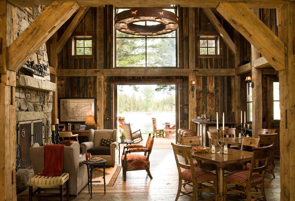 montana-mountain-barn-retreat for family vacation (2)