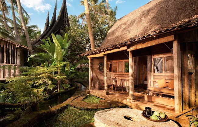 nature resort with classical idea and beautiful serene environment in bali (7)