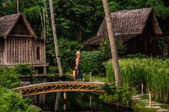 nature resort with classical idea and beautiful serene environment in bali (8)