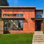 บ้านไม้แดงแบบโมเดิร์น บนแนวคิดการออกแบบที่ทันสมัย และอยู่สบาย
