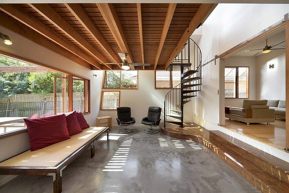transforming old house into modern style in california usa (5)