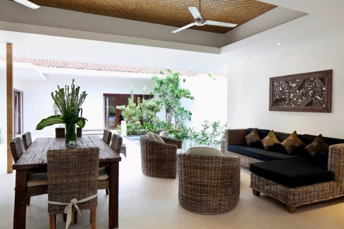 villa resort style house with contemporary garden idea in bali (11)