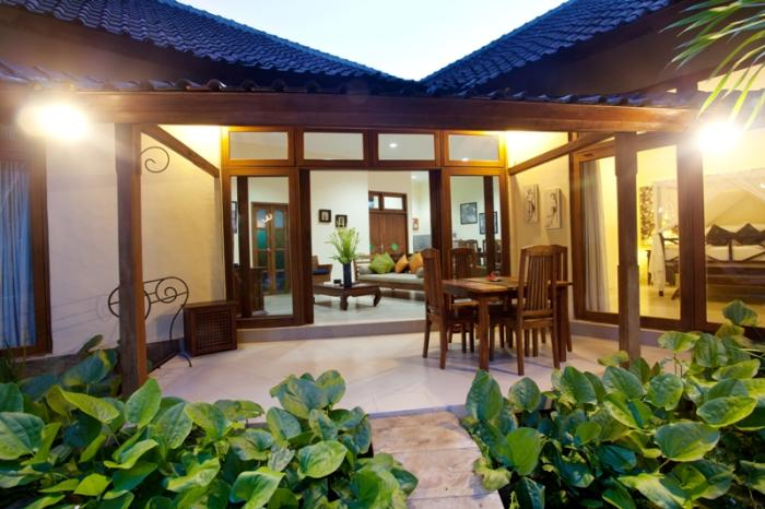 villa resort style house with contemporary garden idea in bali (7)