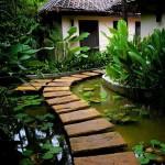 35 ไอเดียการตกแต่ง 'ทางเดินนอกบ้าน' สร้างพื้นที่สวยให้กับบ้านและสวน