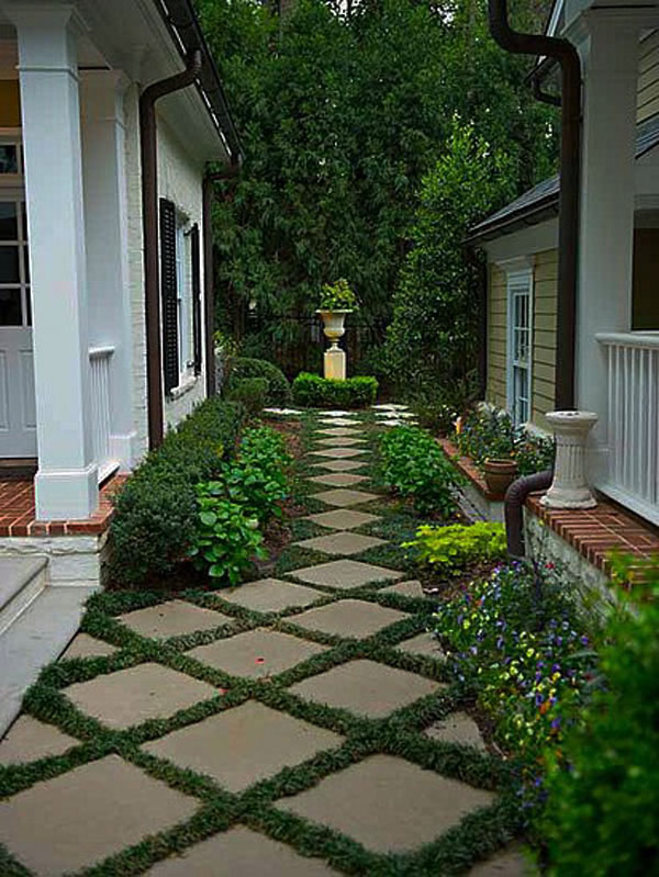 walk pathway to make your home and garden looks beautiful (31)