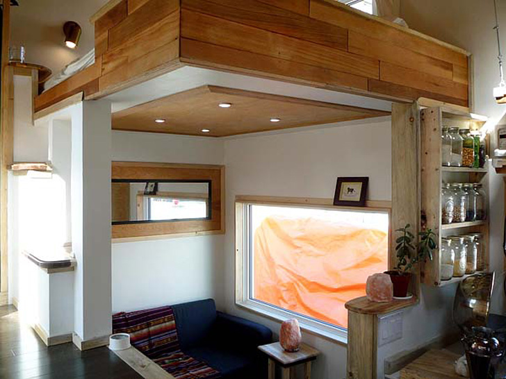 wooden box one half storey house with fully furnished built in (7)