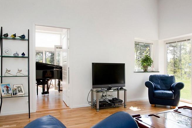 1floor-white-villa-house-with-garage (15)