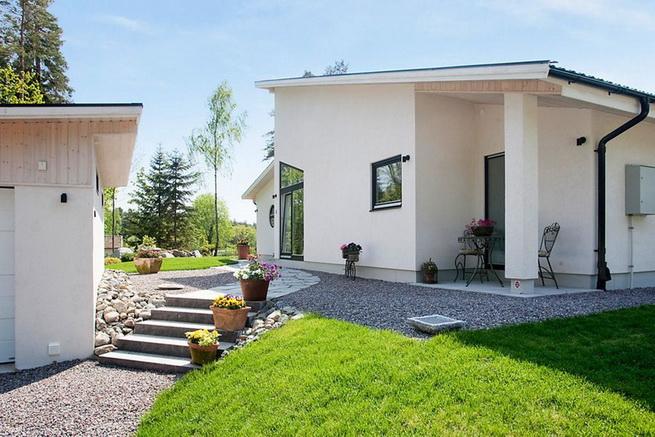 1floor-white-villa-house-with-garage (3)