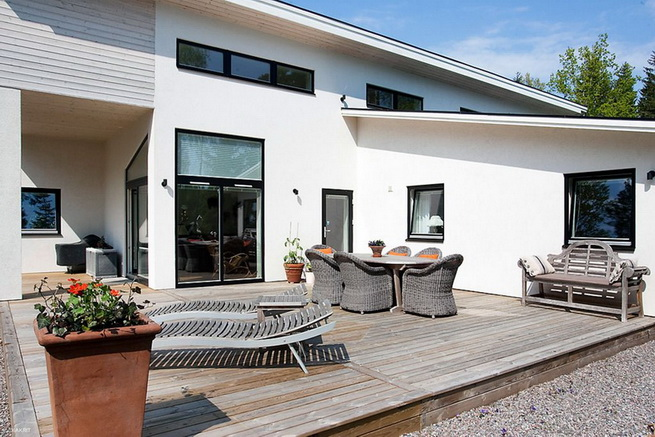 1floor-white-villa-house-with-garage (4)