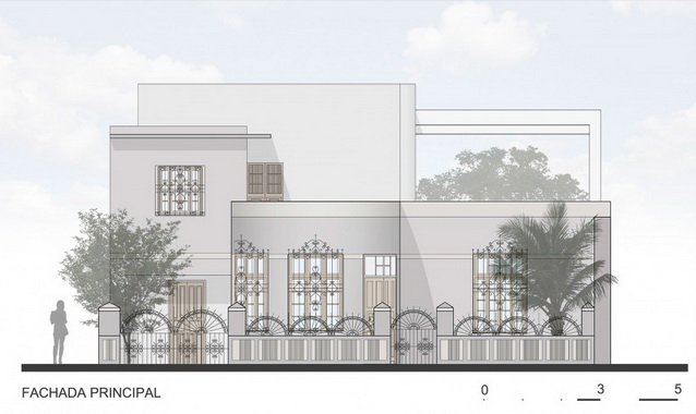2 storey white modern elegant house (17)