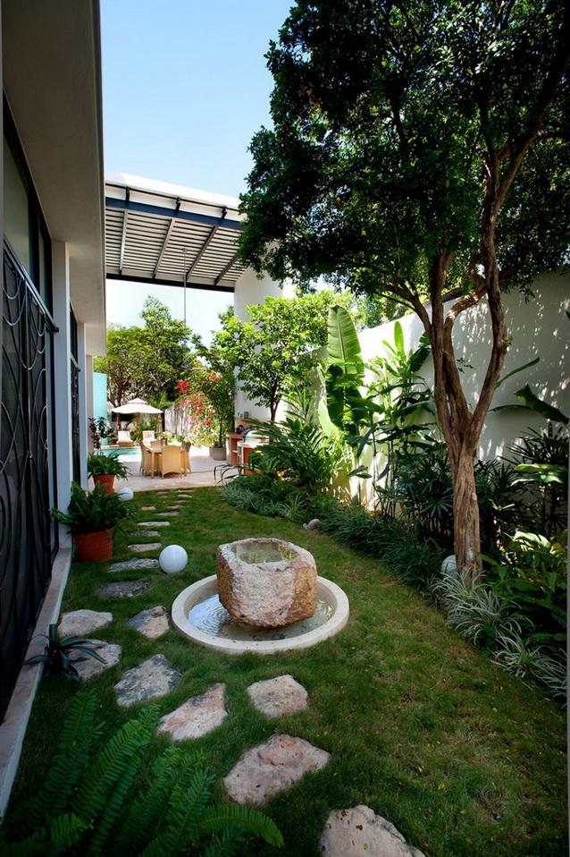 2 storey white modern elegant house (4)