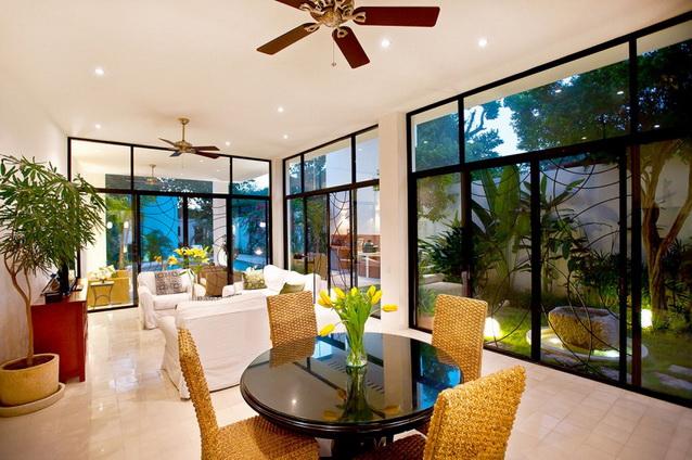 2 storey white modern elegant house (6)