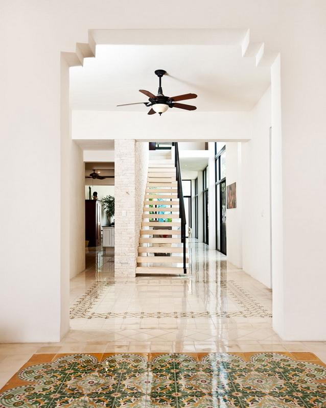 2 storey white modern elegant house (9)
