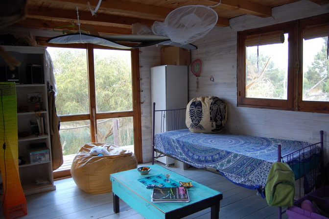 2 storey wooden island hut (3)