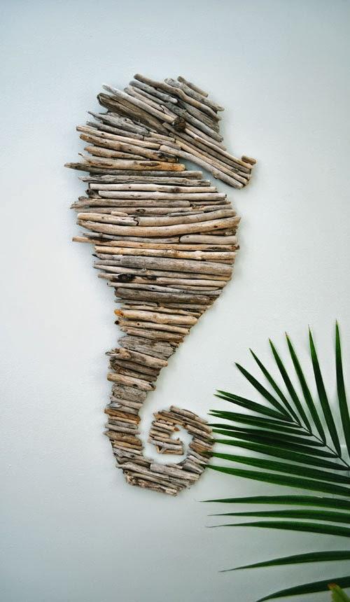 DIY driftwood horse (5)