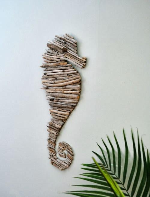 DIY driftwood horse (6)