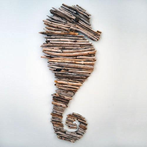 DIY driftwood horse (7)