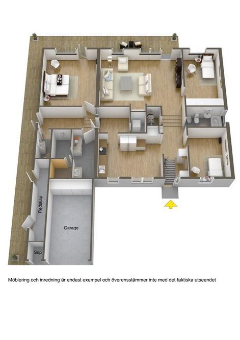 big white 1 floor villa house (21)