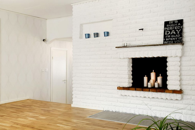big white 1 floor villa house (5)