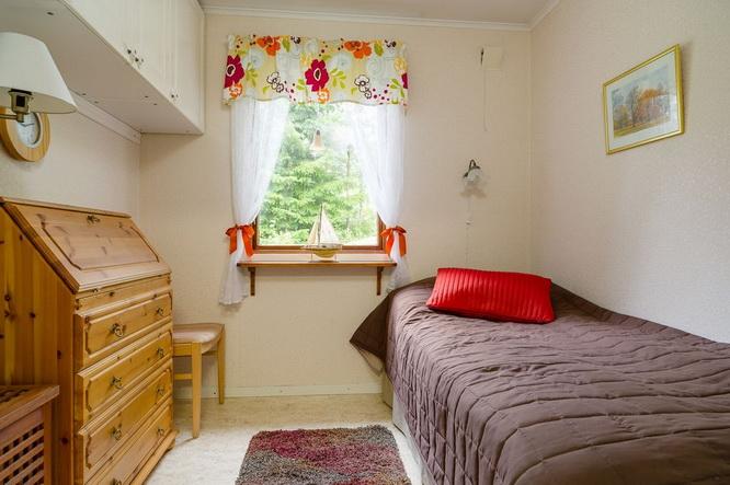 black wooden cottage with vintage interior (7)