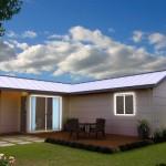 แบบบ้านคอทเทจสไตล์คลาสสิค ความเรียบง่ายที่ลงตัว พร้อมสวนสวยรอบบ้าน