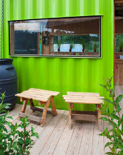 green cozy welcoming hut (1)