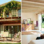 บ้านคันทรี่ขนาดสองชั้น ความน่ารักและอบอุ่น ในสไตล์ชนบท