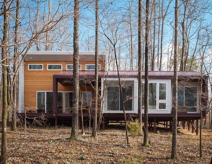 Dwell - Ozarks Cabin