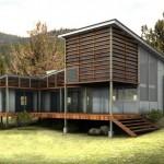 แบบบ้านโมเดิร์นสไตล์อนุรักษ์พลังงาน กลมกลืนไปกับธรรมชาติสีเขียวอันร่มรื่น