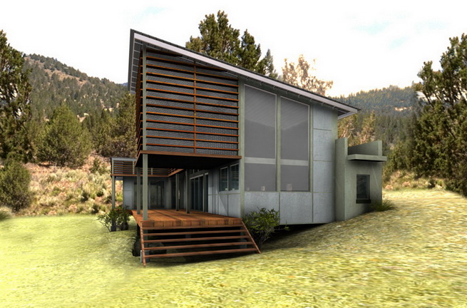 modern-green-house in forest (3)