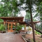 บ้านโมเดิร์นกลางป่าสไตล์ญี่ปุ่น พร้อมสวนหย่อมลอยฟ้าสุดจ๊าบ