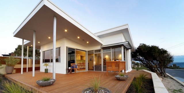 modern white family house (6)