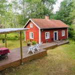 แบบบ้านคอทเทจขนาดเล็ก พร้อมชานไม้อันอบอุ่น ต้อนรับบรรยากาศสดใสรอบๆตัวบ้าน