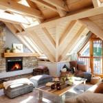 บ้านคอทเทจ ตกแต่งภายในด้วยไม้ทั้งหลัง ความรู้สึกอบอุ่นที่คุณสัมผัสได้