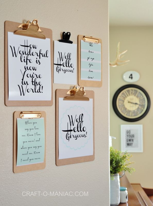 10 easy ideas to decorate interior wall (1)