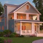 แบบบ้านสไตล์คันทรีขนาดสองชั้น ความอบอุ่นและเสน่ห์ชีวิตแบบบ้านนอก