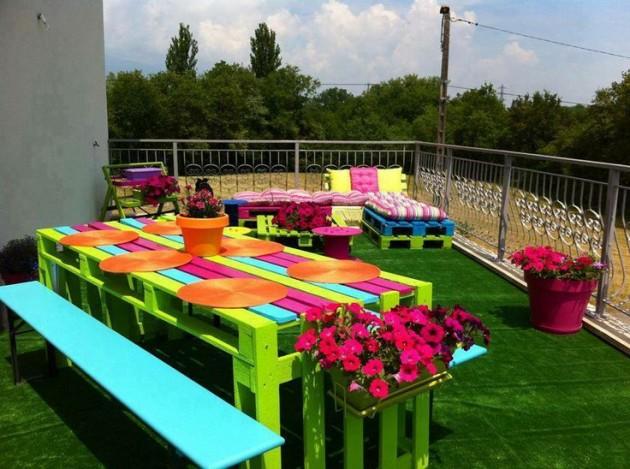 22 DIY ideas outdoor furniture (1)