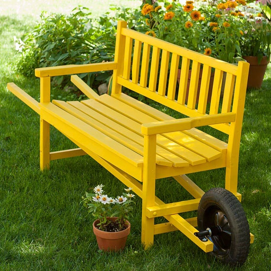 22 DIY ideas outdoor furniture (12)