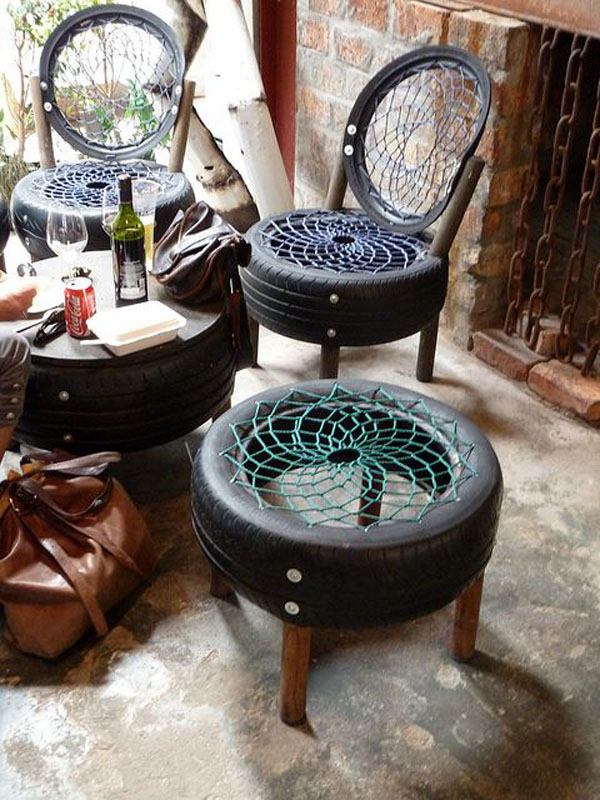 22 DIY ideas outdoor furniture (15)
