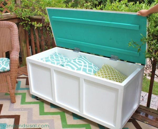 22 DIY ideas outdoor furniture (17)