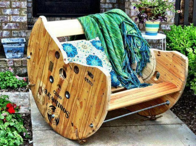 22 DIY ideas outdoor furniture (5)