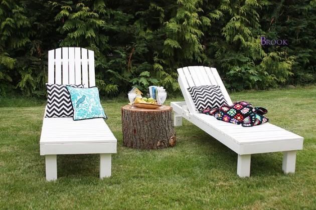 22 DIY ideas outdoor furniture (9)