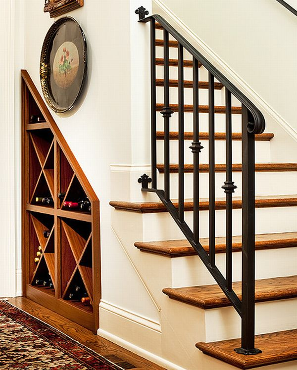 40 under stairs storage space and shelf ideas (17)