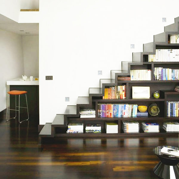 40 under stairs storage space and shelf ideas (19)