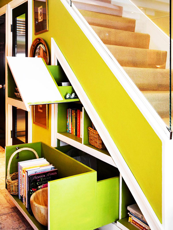 40 under stairs storage space and shelf ideas (38)