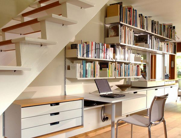 40 under stairs storage space and shelf ideas (40)