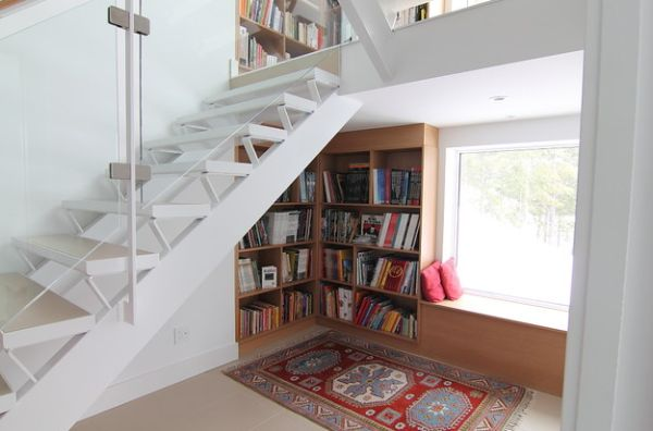 40 under stairs storage space and shelf ideas (8)