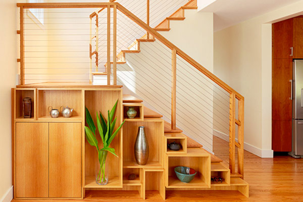 40 under stairs storage space and shelf ideas (9)