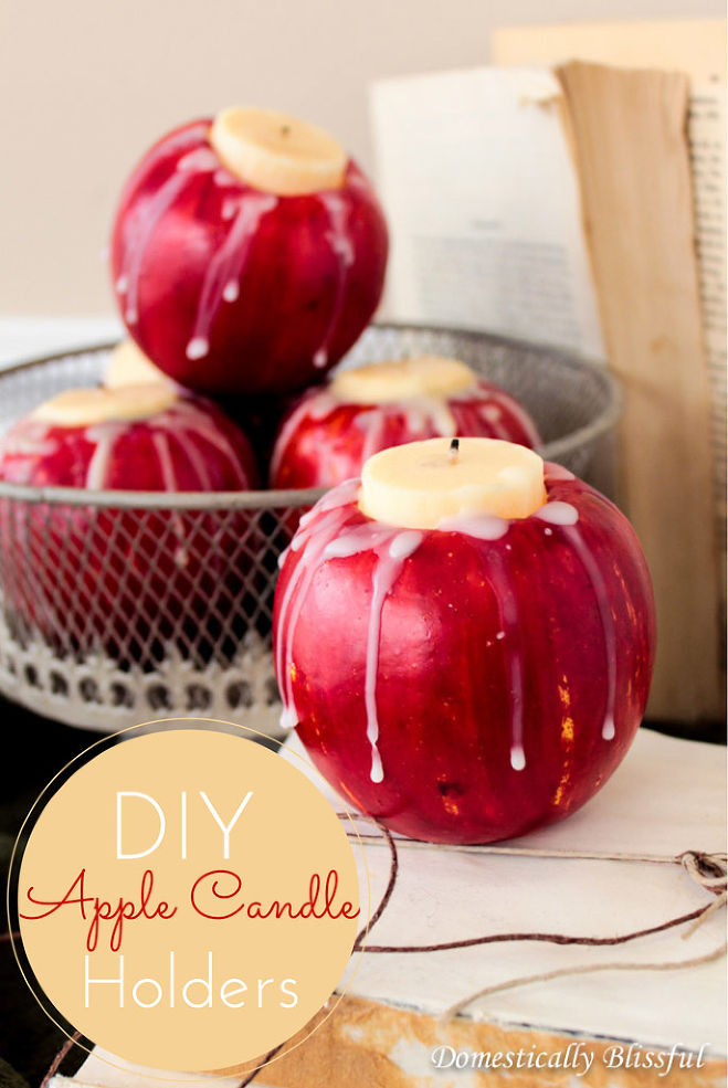 DIY apple candle (1)